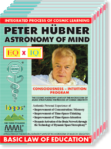Peter Hübner's Cosmic Creativity Program